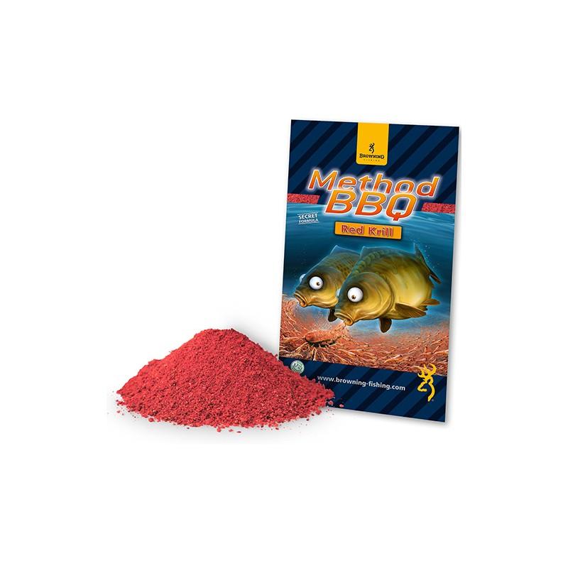 Grundfutter Mehod BBQ Red Krill