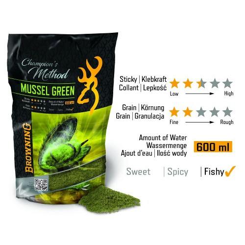 Champion´s Method Mussel green